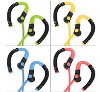 אוזניות סיליקון בלוטות' גירסא 4.1  מותאמות לפעילות ספורטיבית נוחות וקלות מאוד דגם HS-390BT