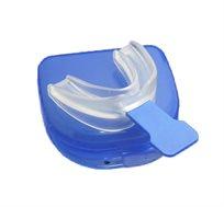 מכשיר למניעת נחירות וחריקת שיניים, לנעילת הלסת והשארת נתיב נשימה פתוח