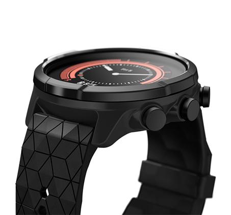 שעון עם דופק מובנה מפרק כף היד Suunto 9 Baro Titanium בצבע שחור - משלוח חינם - תמונה 3