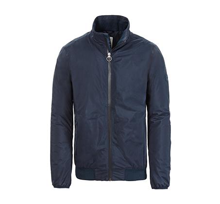מעיל דגם A1MZQ-433 לגברים - כחול כהה
