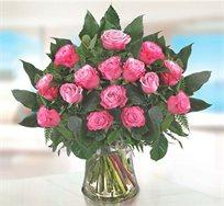 זר ורדים ורודים - Pink Roses