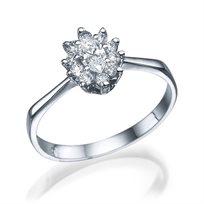 """טבעת יהלומים """"הנסיכה דיאנה"""" 0.60 קראט"""