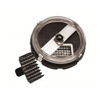 אביזר קוביות AMCOR דגם D11 עשוי נירוסטה  למעבד מזון דגם FP985 כולל מברשת לניקוי
