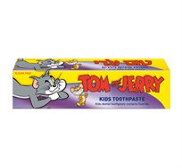 10 יחידות משחת שיניים לילדים בטעם ענבים תכולה 60 גרם Tom & Jerry - משלוח חינם