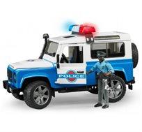 ג'יפ לנד רובר רכב משטרה + שוטר ואביזרים