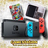 Nintendo Switch Mario Odyssey נינטנדו סוויץ' חבילת מריו !!