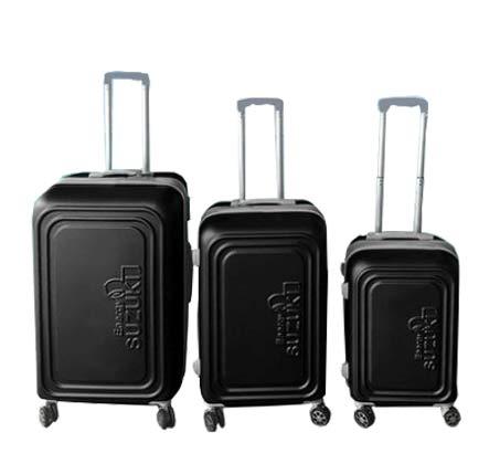 סט 3 מזוודות קשיחות Toledo - שחור