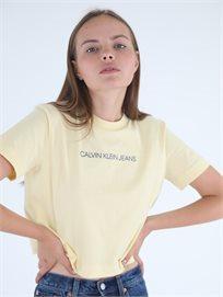 חולצה קלווין קליין צהובה לנשים