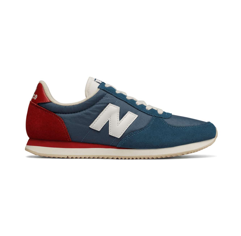 נעלי סניקרס לגברים - כחול אדום