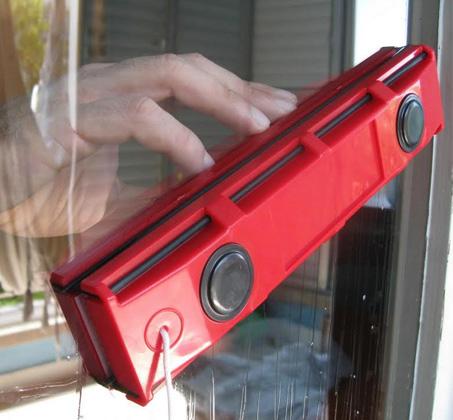 מרענן מנקה חלונות מגנטי דו צדדי לניקוי חלונות, דלתות ומרפסות GG-73