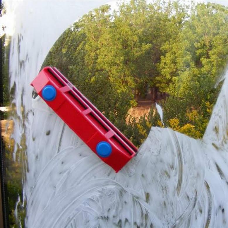 מסודר מנקה חלונות מגנטי דו צדדי לניקוי חלונות, דלתות ומרפסות RB-91