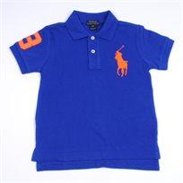 RALPH LAUREM / ראלף לורן חולצת פולו סוס גדול - כחול