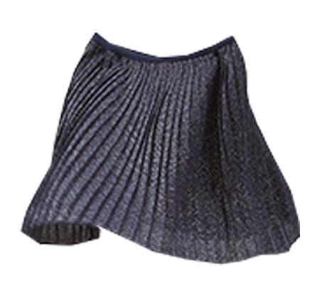 חצאית OVS קפלים עם לורקס לילדות - שחור