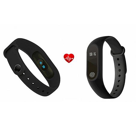שעון ספורט חכם הכולל מד דופק מובנה מתחבר לסמארטפון באמצעות Bluetooth