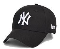 New Era גברים//  כובע Leauge Basic Black