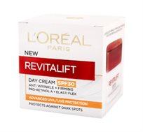 """קרם לחות מכיל 50 מ""""ל Loreal SPF30 Revitalift Day Cream"""