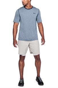 חולצת אימון UNDER ARMOUR THREADBORNE STRIPE לגבר בצבע כחול
