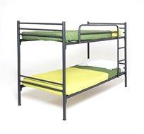 מיטת קומותיים ממתכת עם סולם ומעקה בטיחות BRADEX VOLARE