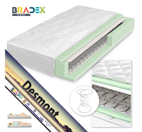 מיטת קומותיים ממתכת עם סולם ומעקה בטיחות BRADEX VOLARE - תמונה 4