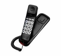 טלפון שולחני עם לחצנים גדולים וצג אחורי AL-2511