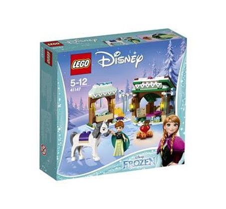 לגו ערכת אנה ואלזה נסיכות - משחק לילדים 153 חלקים
