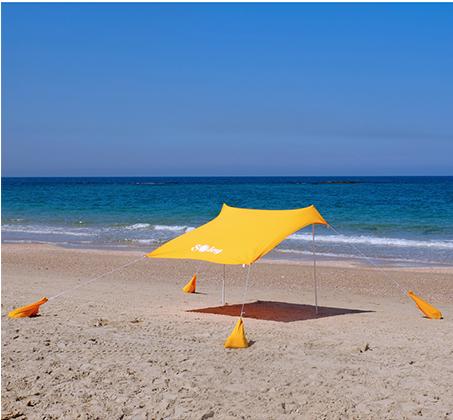 אוהל חוף בגודל L נוח וקל להקמה בחוף הים במגוון צבעים OUTDOOR REVOLUTION - משלוח חינם - תמונה 6