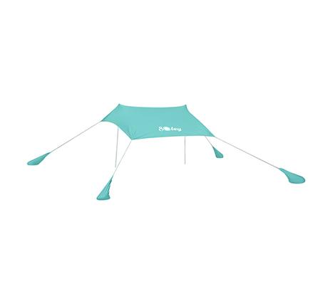 אוהל חוף בגודל L נוח וקל להקמה בחוף הים במגוון צבעים