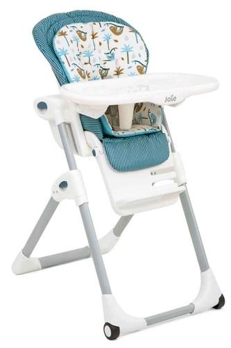 כסא אוכל מפואר לתינוק Mimzy Lx עם 3 מגשים וריפוד כפול - Tropical Paradise