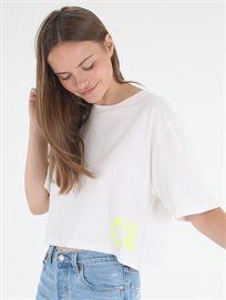 חולצה קלווין קליין לבנה לנשים