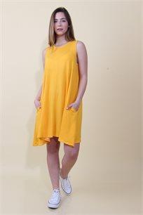 שמלת פרנץ' כיסים