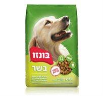 """מזון BONZO  לכלבים 3 ק""""ג"""