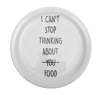 זוג/רביעיית צלחות גדולות - I CAN'T STOP