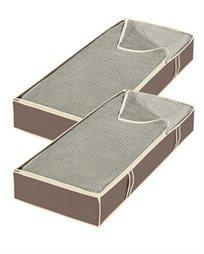 שק אחסון ענק מתחת למיטה- סט של 2