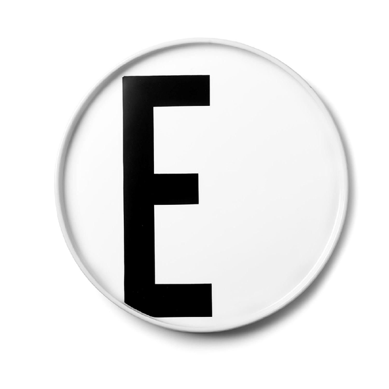 Design Letters// Aj Porcelain Plates E