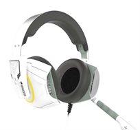 אוזניות גיימינג פול קאפ 7.1 תאורת LED RGB  GAMEDIAS דגם HEPHAESTUS E1