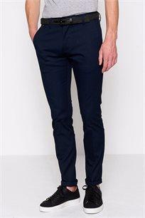 מכנסי בד לגבר DEVRED - כחול נייבי
