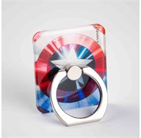 טבעת סטנד בעיצוב קפטן אמריקה