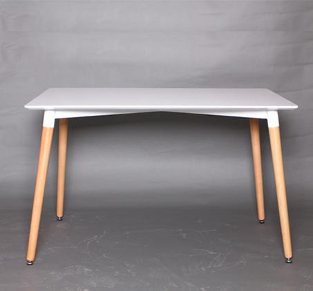 שולחן אוכל לבן דגם גולן