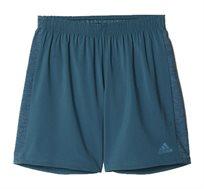 מכנסי אימון קצרים לגברים בצבע ירוק כהה