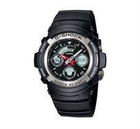 שעון יד אנלוגי דיגיטלי - שחור