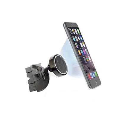 מעמד מגנטי למכשירי סלולר וטאבלטים המתחבר לחריץ הcd ואינו מסתיר את שדה הראיה - תמונה 4