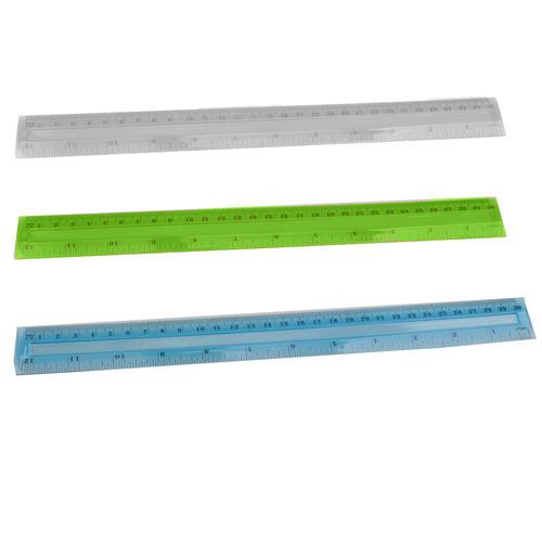 סרגל פלסטיק 30 סנטימטר
