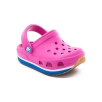 Crocs Retro Clog Kids - כפכפי רטרו לילדים בצבע פוקסיהכחול ים