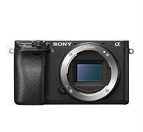 מצלמת סטילס דיגיטאלית SONY מסדרת אלפה באיכות צילום וידאו באיכות 4K דגם ILC-E6300B +כרטיס זיכרון מתנה