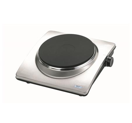 פלטת בישול יחיד CRYSTAL דגם HP488 בעיצוב מרהיב מנירוסטה איכותית - תמונה 2