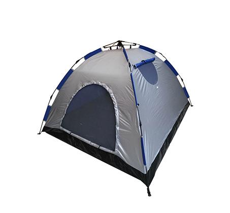 אוהל ל-4 אנשים בעל 2 חלונות ורשתות נגד יתושים