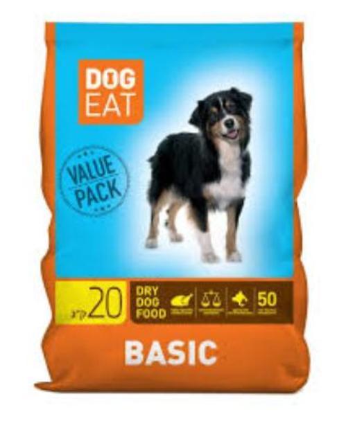 בייסיק מזון לכלבים 20 ק''ג