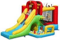 מתקן מתנפח לילדים - הרפתקאות 8 ב 1 דגם 9160