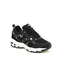 נעלי ספורט טרנדיות שחורות