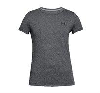 חולצה טי לנשים Under Armour Women's Short Sleeve Shirt  בצבע שחור